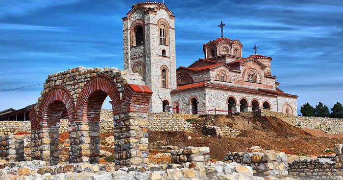 Церковь Святого Пантелеймона, Охрид, Македония