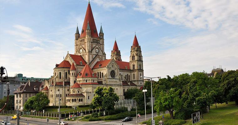 Церквь Святого Франциска, Вена, Австрия.