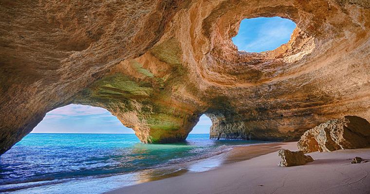 Алгарве пещеры, Португалия