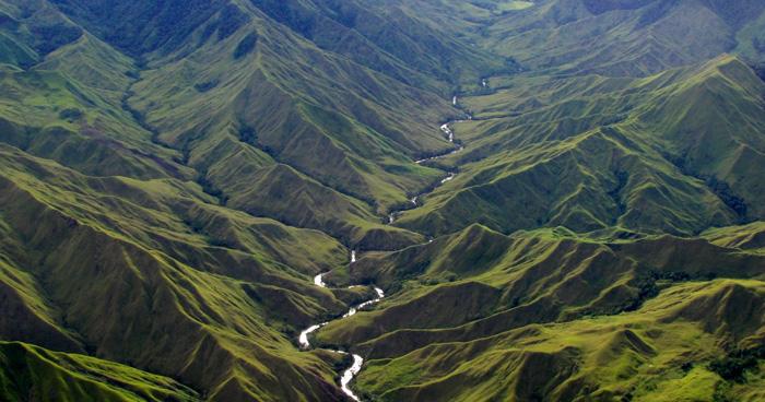 Река Меня в Папуа-Новой Гвинее
