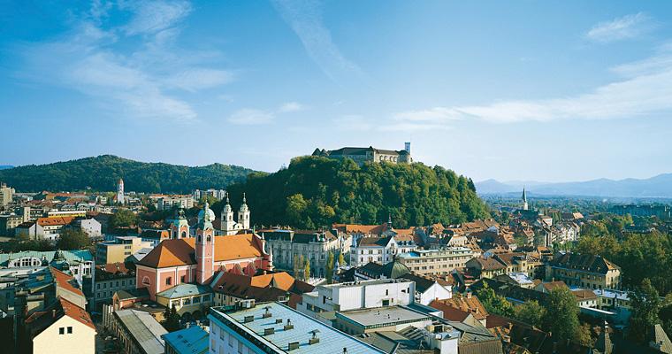 Панорама Любляне, Словения