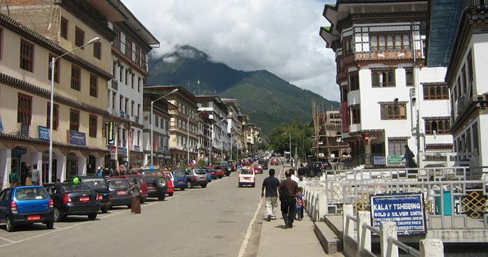 Norzin Lam Road, Тхимпху, Бутан