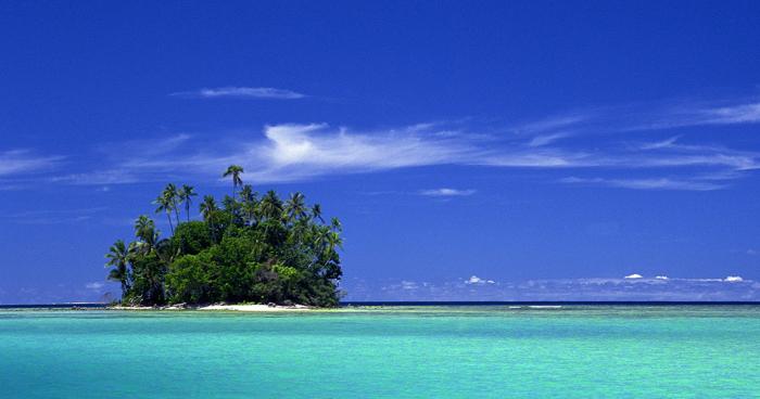 Маленький остров уединения, Соломоновы острова