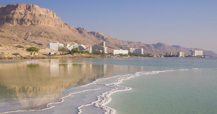 Мертвое море, Израиля