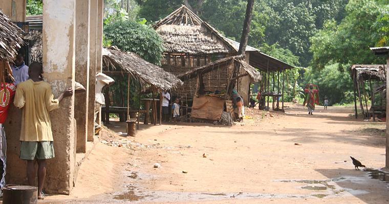 Типичный деревенский участок, Кения