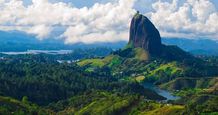 The Guatape Rock, Колумбия