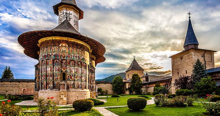Монастырь Сучевица, Молдавия