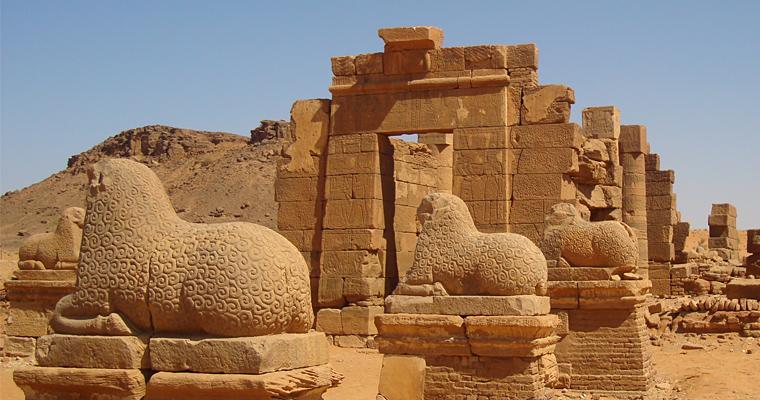 Древние нубийские Пирамиды в Судане