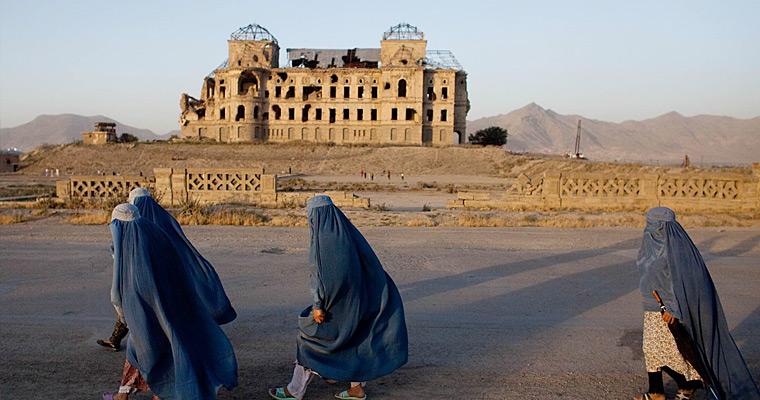 Дарул Аман дворец, Кабул, Афганистан.