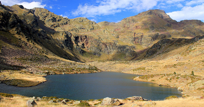 Озеро Tristaina, Ордино, Андорра