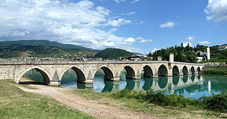 Мост Мехмед-паша Соколович, Сербия