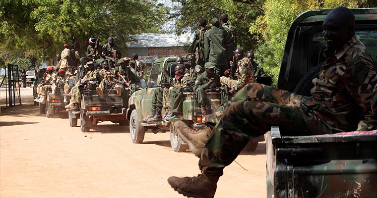 Война в Южном Судане