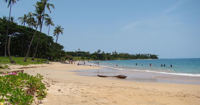 Пляж Сан-Томе и Принсипи