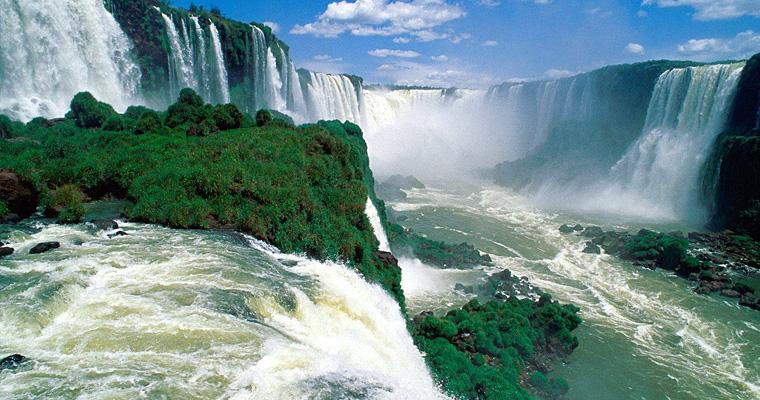 Водопад Игуасу, Парагвай