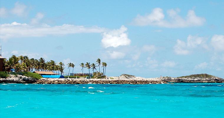Остров Blue Lagoon Island