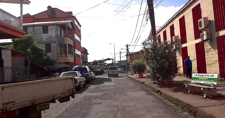 Улица Розо, Доминика