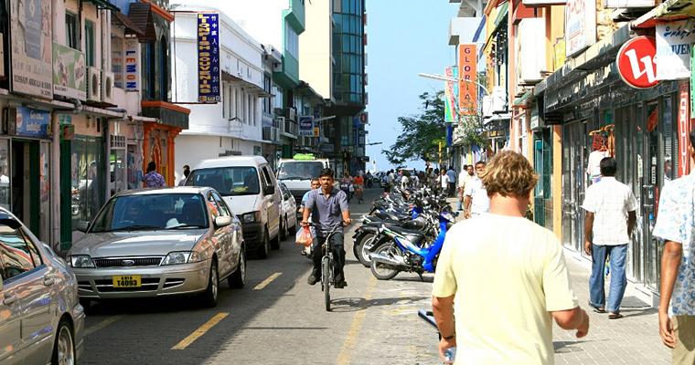 Улица Мале, Мальдивы