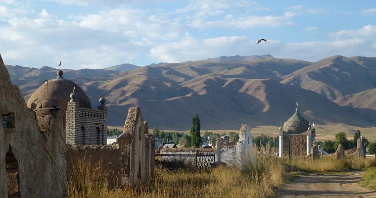 Таш-Рабат, Киргизия