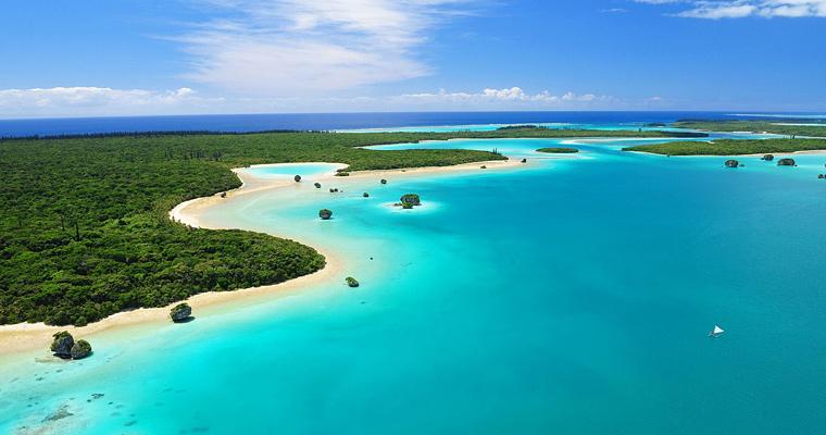 Южная часть Тихого-океанского острова, Новая Каледония