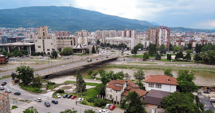 Скопье, Македония