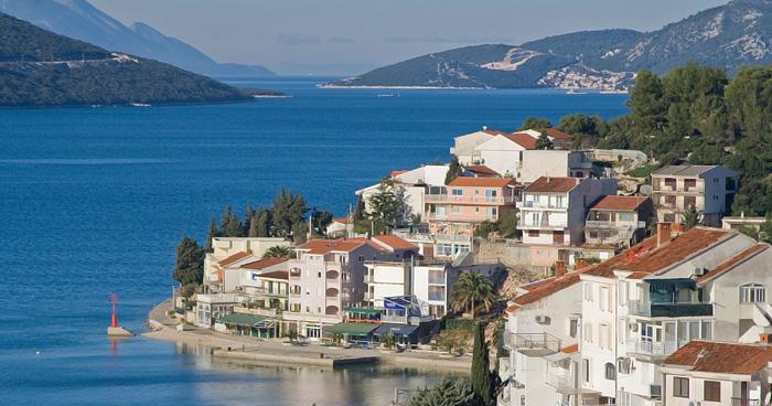 Залив Неуме в Боснии и Герцеговине