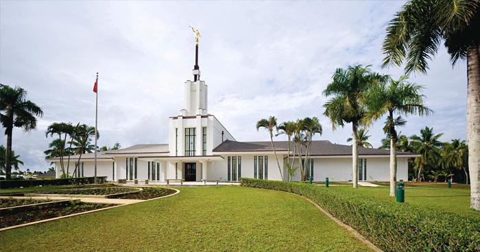 Храм мормонов, Нукуалофа, Тонга