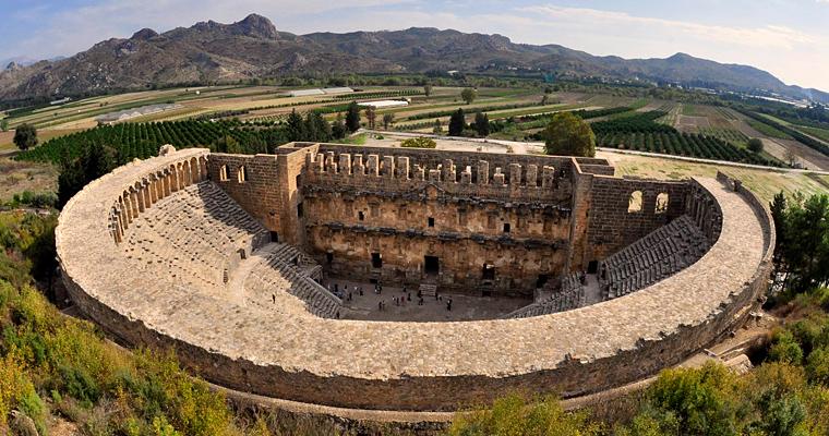 Римский театр в Аспендос, Турция