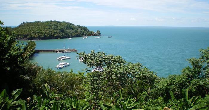Вид из Иль-Рояль, Французская Гвиана