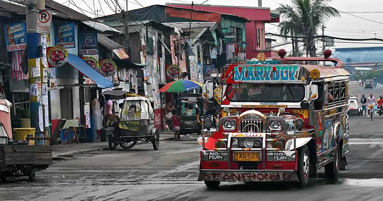 Местное такси в Маниле, Филиппины