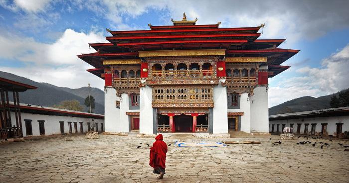 Территории в Гангте, Бутан