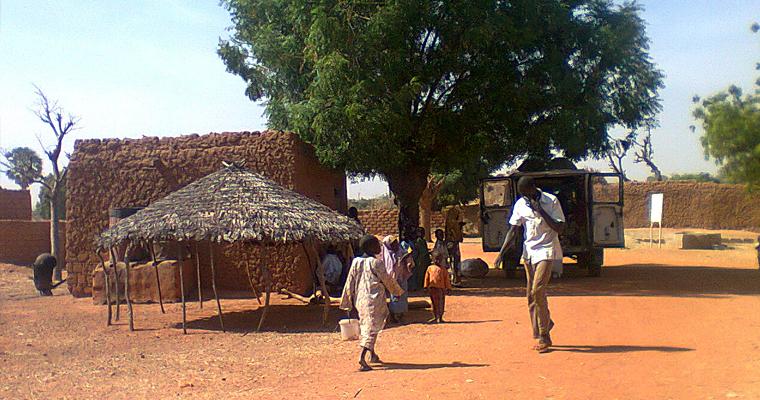 Деревня в Kaita, Нигерия