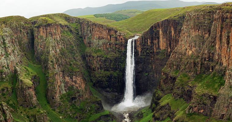 Водопад Maletsunyane, Лесото