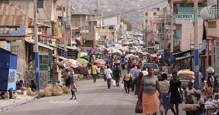 Улица в Порт-о-Пренс, Гаити