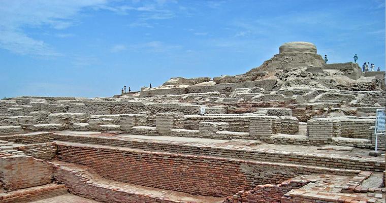 Руины в Мохенджо-Даро, Пакистан
