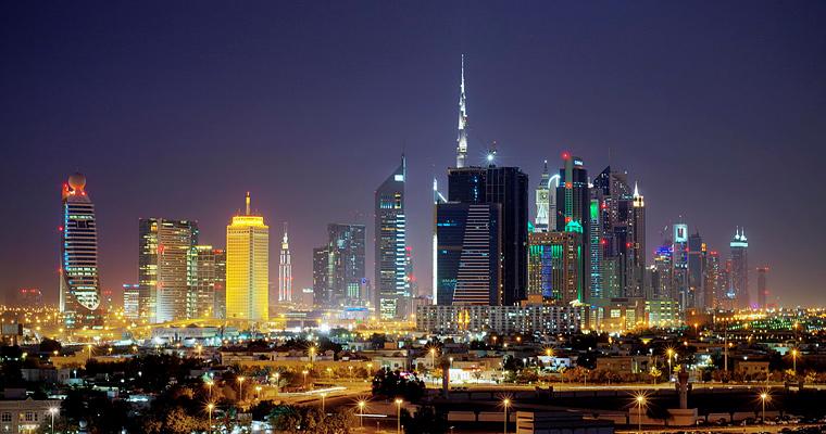 Ночной Кувейт