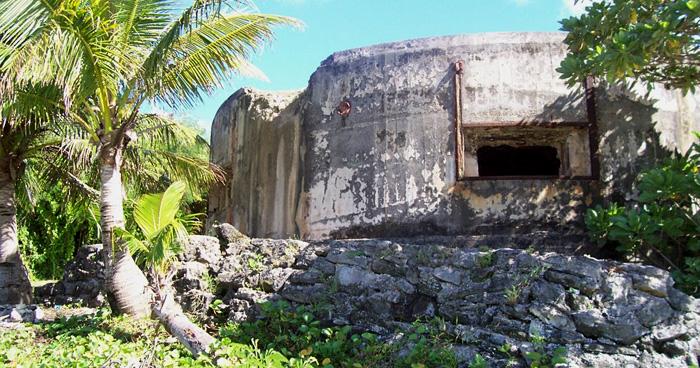 Японский бункер, Северные Марианские острова