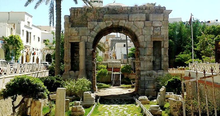 Арка Марка Аврелия, Старый Город, Триполи, Ливия