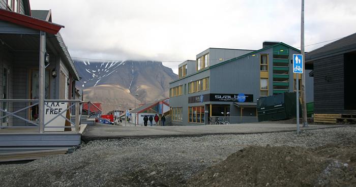 Лонгйир, Шпицберген