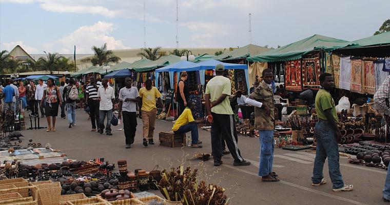 Рынок, Лусака, Замбия