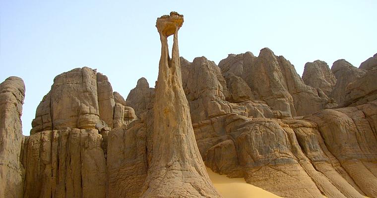 Тассилин-Адджер, Алжир