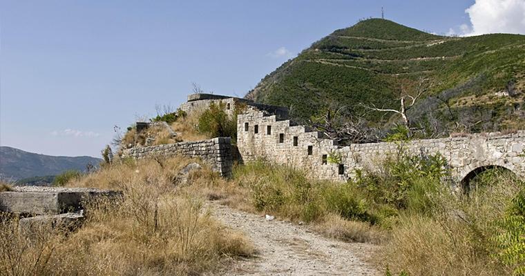 Замок Могрен, Черногория