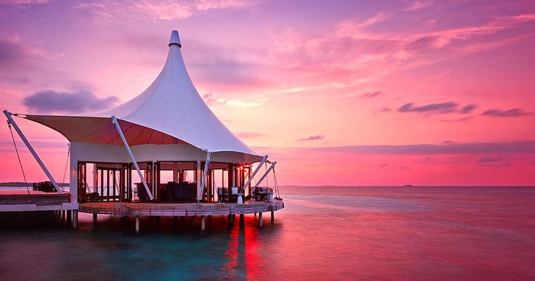 Закат, Мальдивы