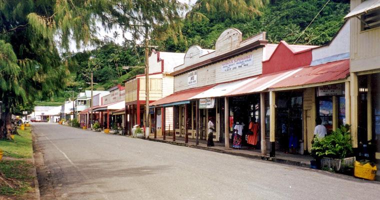 Улица на Науру
