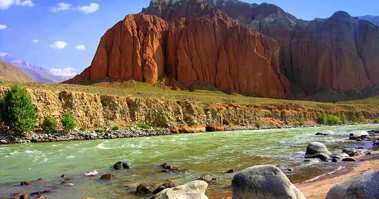 Красная долина, Киргизия