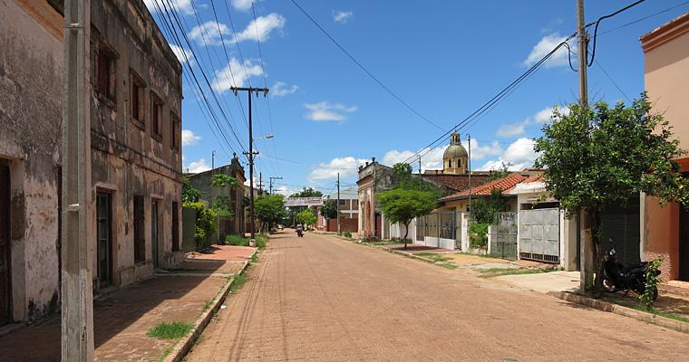 Улицы Консепсьон, Парагвай