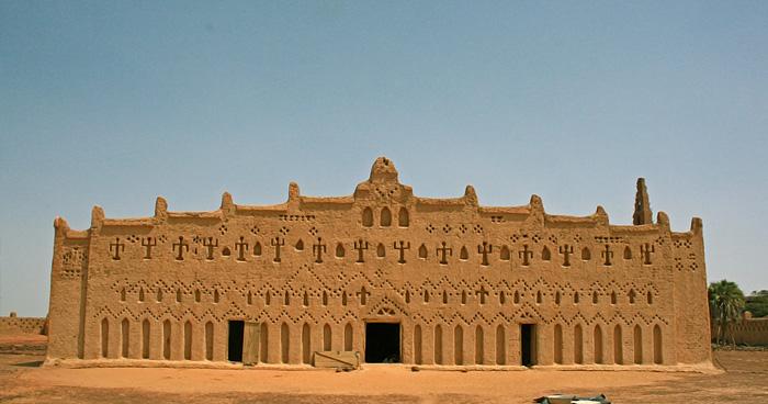 Бани, Большая мечеть, Буркина-Фасо
