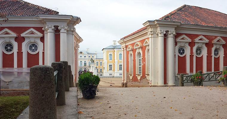 Замок Бауска, Латвия