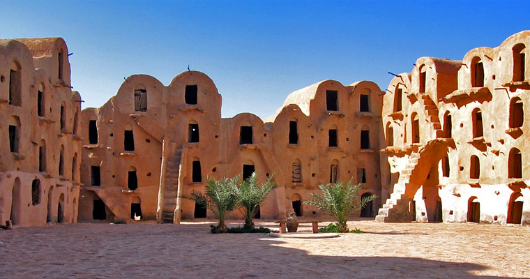 Troglodyte Fort, Татуин, Тунис