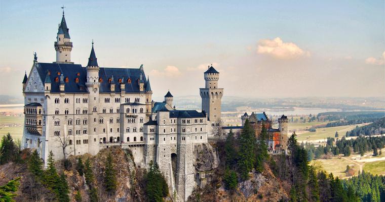Замок Нойшванштайн, Южная Бавария, Германия