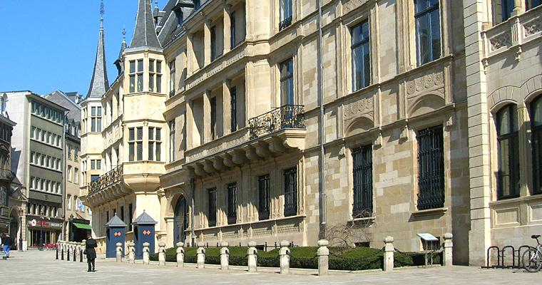 Герцогский дворец, Люксембург